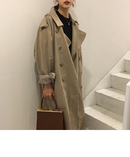 Margiela Trench (BEIGE)
