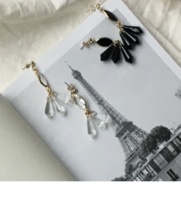 eiffel earring (2 color)