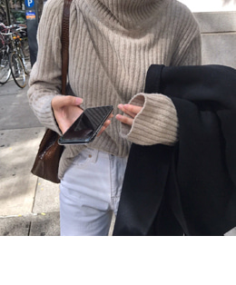 CHLOE PULLOVER KNIT (2COLOR)