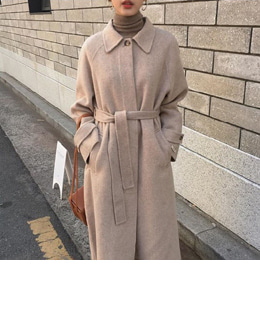 HIDDEN SINGLE HANDMADE COAT (2COLOR)