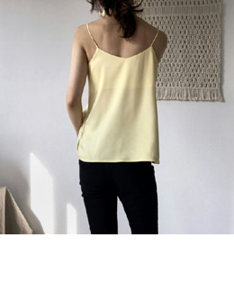 silk sleeveless (6color)