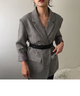 belt set jacket (3color)
