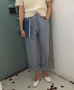 lovely cotton pants (3color)