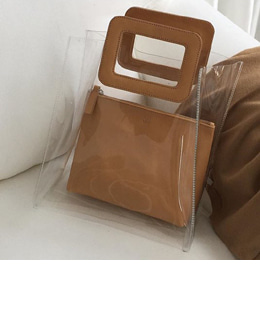Shirley clear bag (2color)