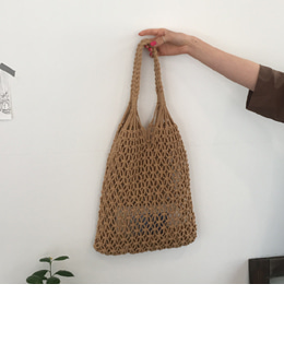 Net bag (beige)