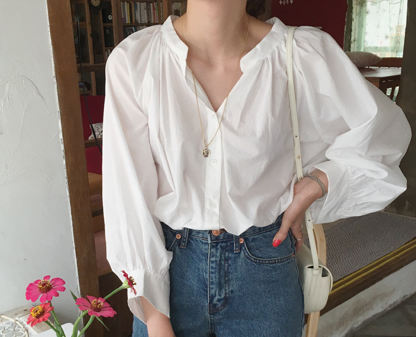 Ruby blouse (2color)