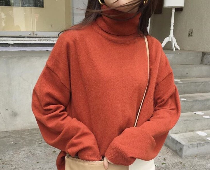 vanilla pullover knit (6color)