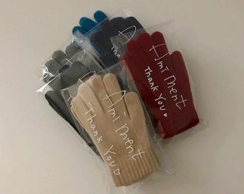 Knit gloves (6color)