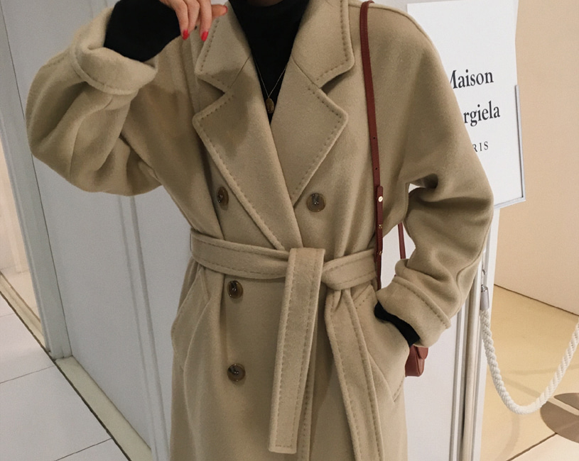 Bern double handmade coat (2color)