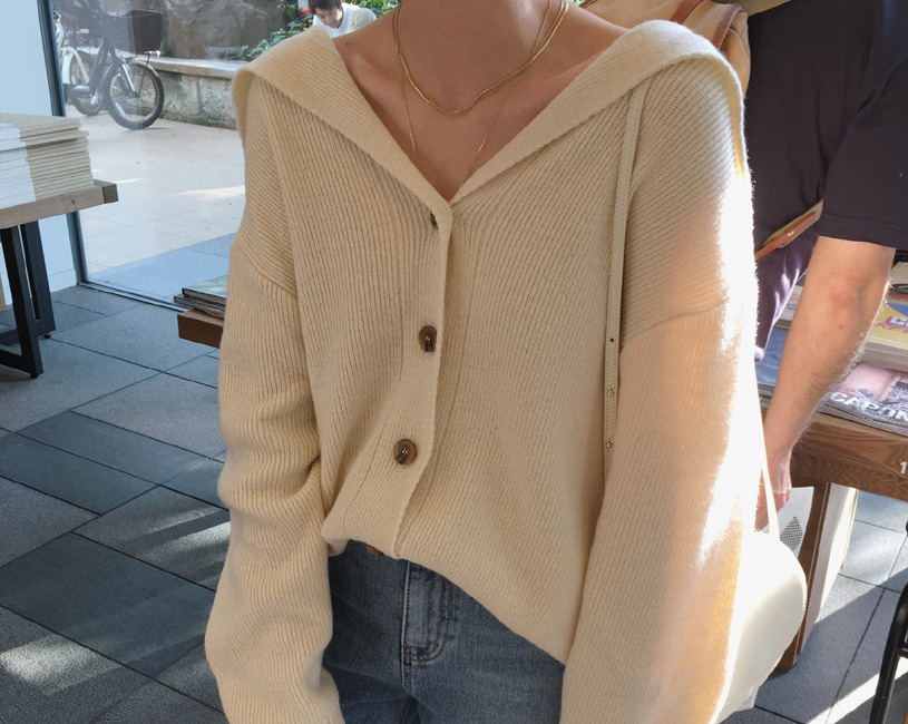 Lucky cardigan (4color)