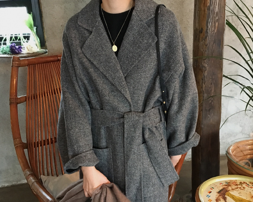 Lowe handmade coat (2color)