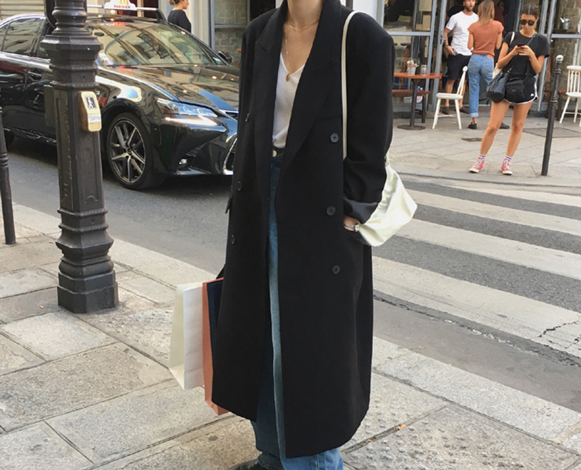 Berlin coat (black)