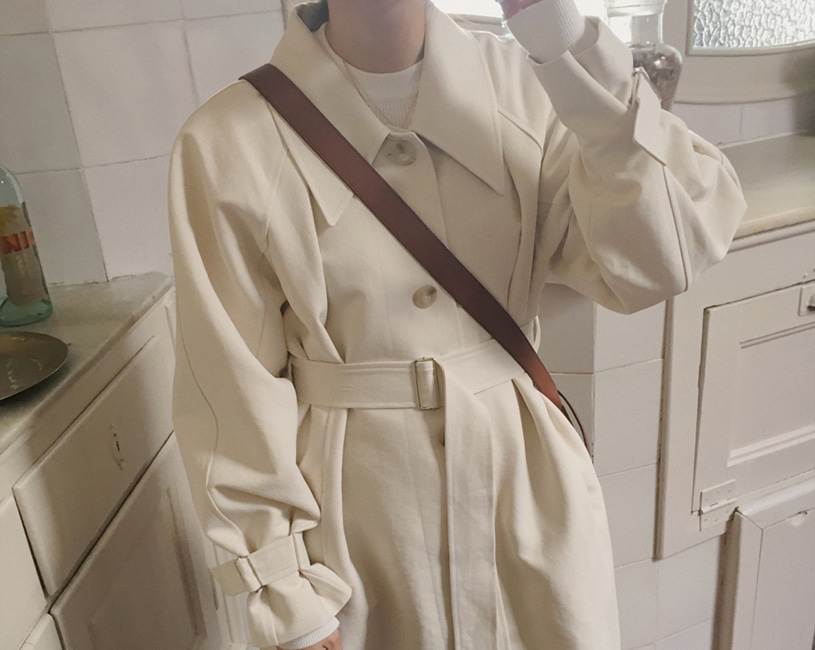 Cielo trench coat (cream)