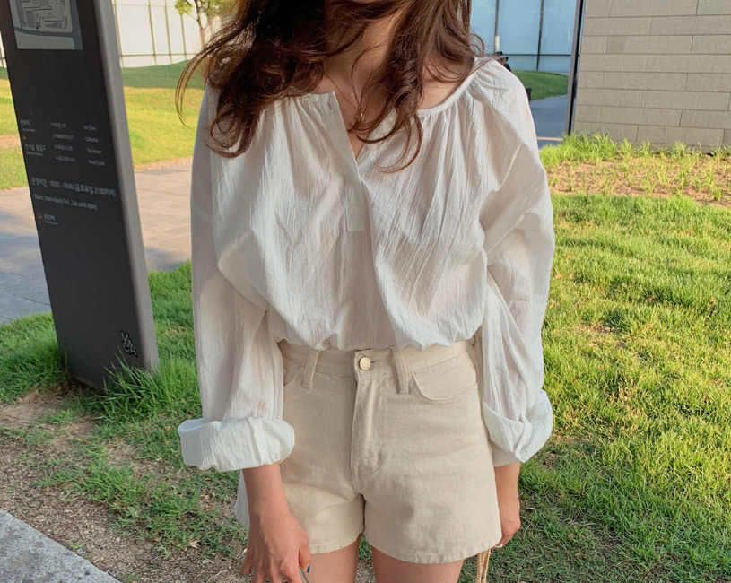 Adelio blouse (2color)