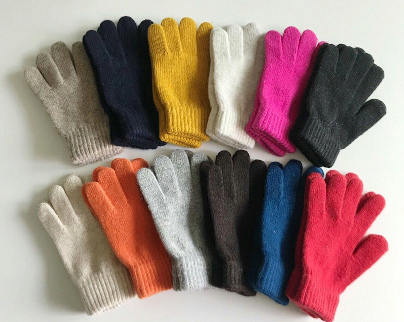Drow knit gloves (11color)