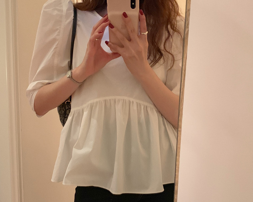 Wuzy blouse (2color)