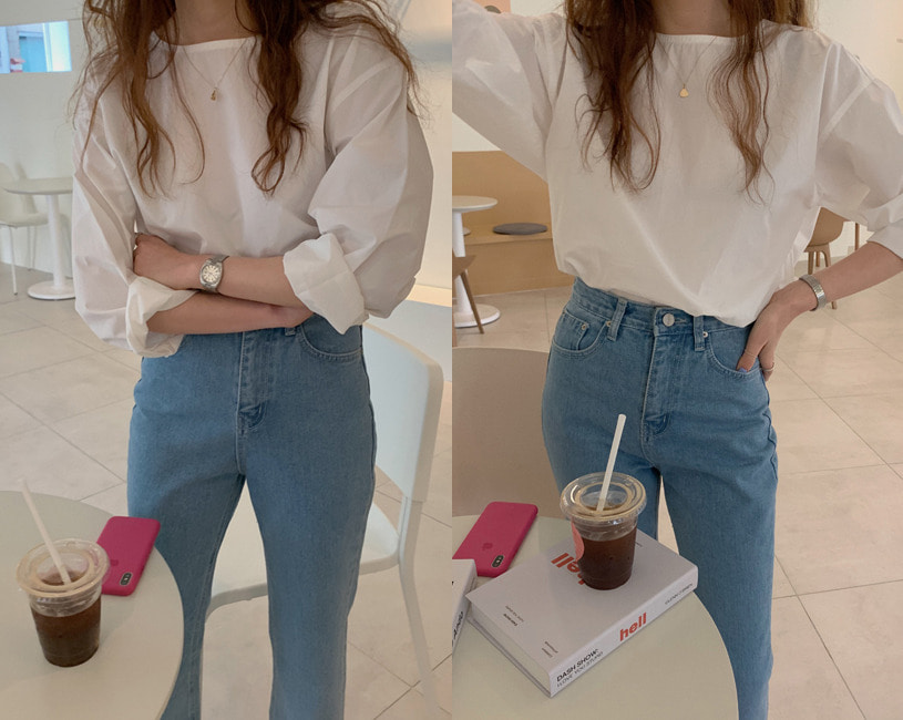 [단독] Emery blouse (2color)