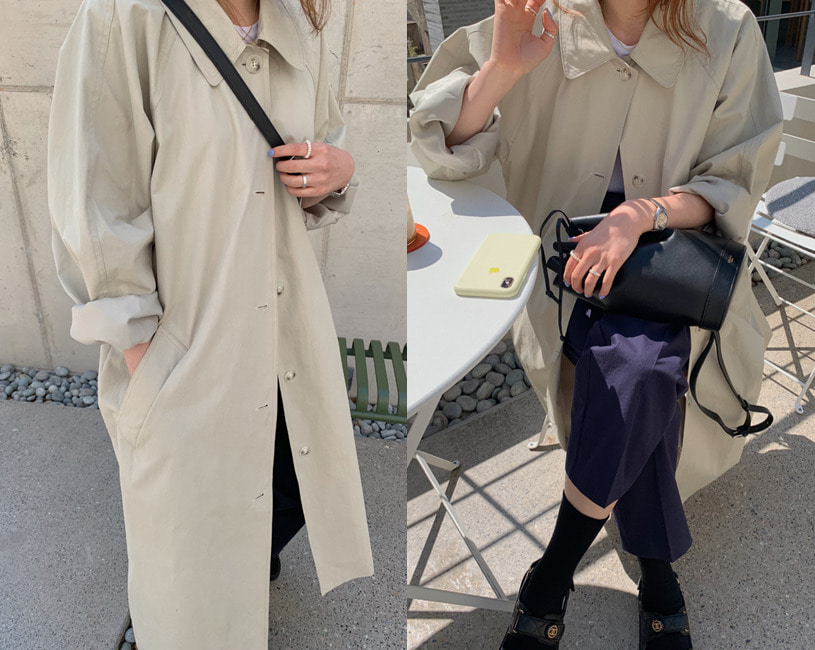 Dali trench coat (2color)