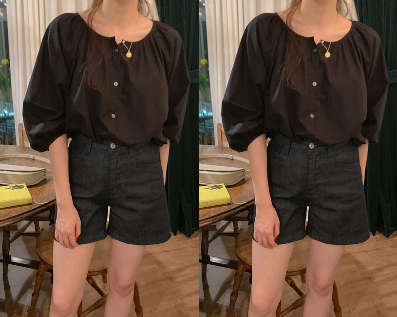 Harold blouse (3color)