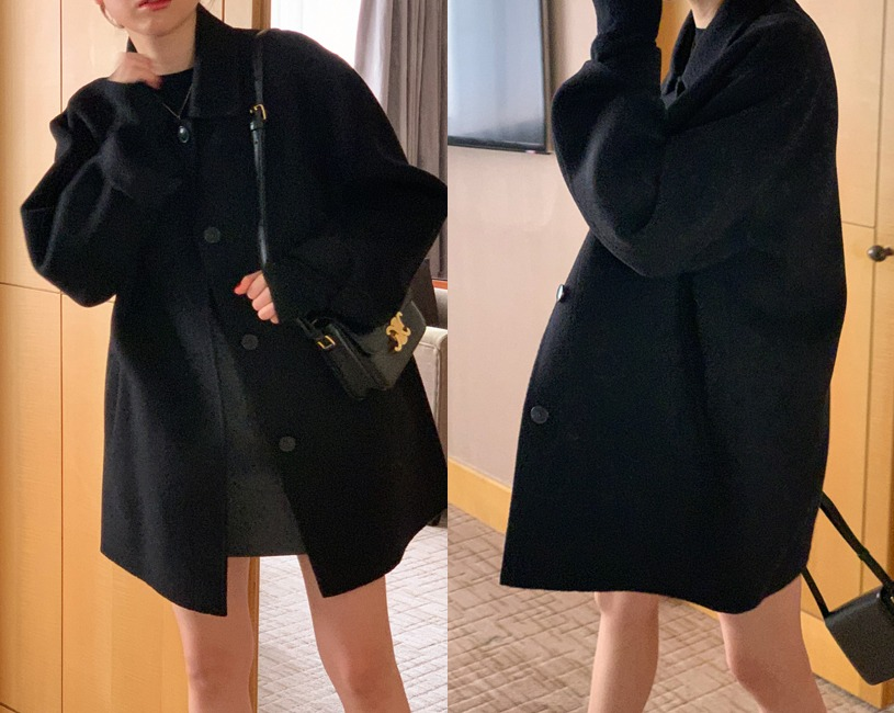 [당일출고] Spree handmade coat (black)