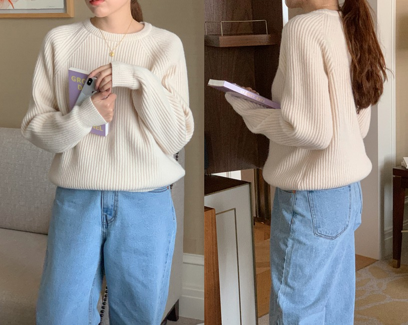 Raboo knit (3color)