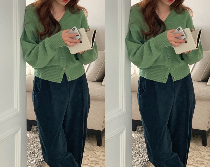 Agave cardigan (3color) (지연/2주이상소요-:)