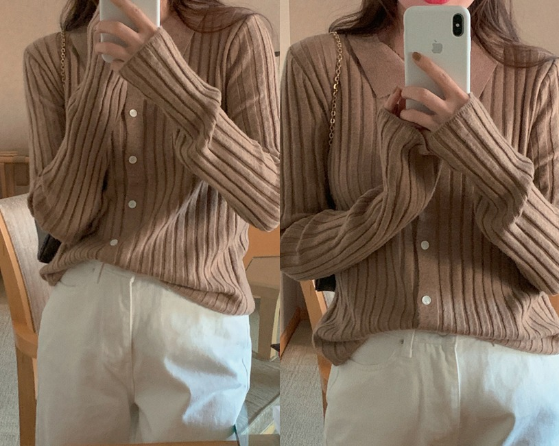 [울 30%] Delta cardigan (2color)