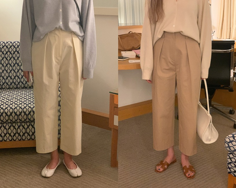 Rond pants (3color)