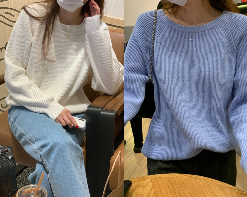 Noon knit (4color)