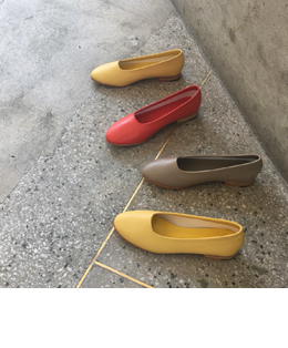 l.o.q flat shoes (8color)