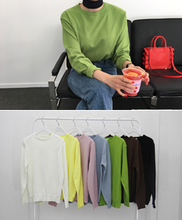 pudding knit (7color)