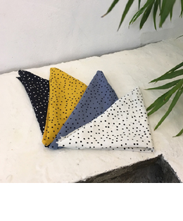 dot pattern scarf(4color)