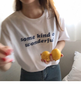 some kind of wonderful tee (3color)