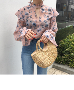 sally blossom blouse (2color)