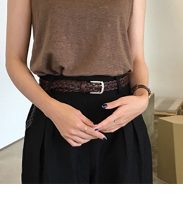 HOWELL BELT (DARK BROWN)