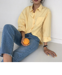 LEMAIRE SHIRTS (YELLOW)