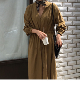 [sale] sophy cotton dress (2color)