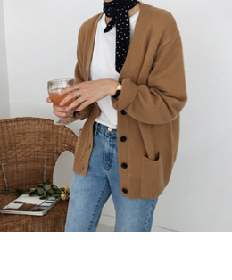 onion wool cardigan (4color)