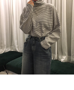 STRIPE PULLOVER TOP (3COLOR)