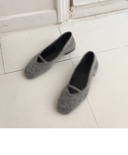 lovely angora shoes (2color)