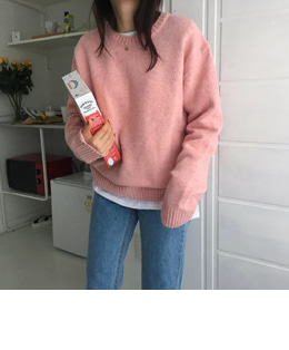 marshmallow knit (2color)