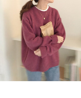 holly cashmere knit (3color)