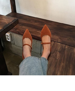JANE FLAT SHOES (3COLOR)