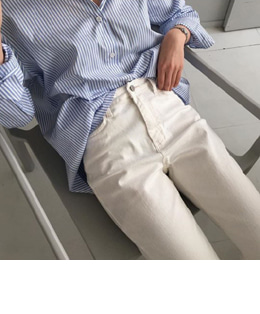 FRENCH PANTS (IVORY)