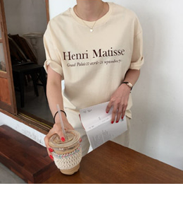 Henri Matisse tee (3color)