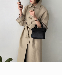 mulberry trench (beige)