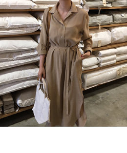 Sompong dress (beige)
