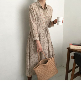 July dress (beige)