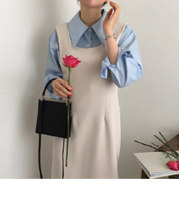 latte dress (2color)