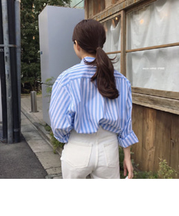 Honey stripe shirts (2color)